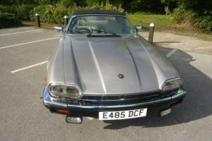 JAGUAR XJS 3.6 CABRIOLET MANUAL 2+2 1987 - EXTENSIVE SERVICE HISTORY FROM NEW Photo