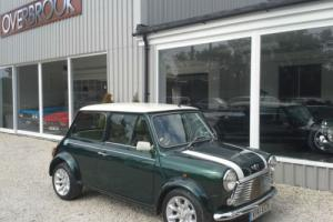 2000 V REG Rover MINI COOPER SPORT BRG WHITE ROOF 72K FSH Photo
