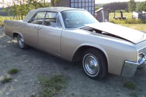 Lincoln : Continental continental convertible 4 suicide doors