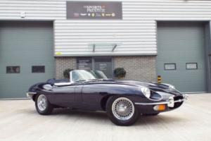 1968 Jaguar E Type Series 2 Roadster 4.2 Litre Dark Blue Great Example! Photo