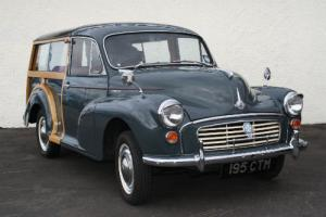 1960 Morris Minor Traveller 948cc Petrol