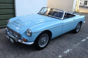 1968 F MGC 2.9 Sports Roadster Manual 170ft Torque