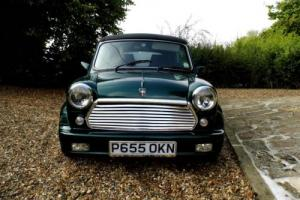 1996 Rover Mini Cabriolet in British Racing Green