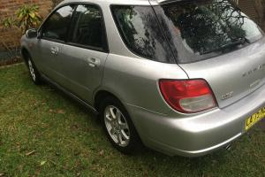 Subaru Impreza RX AWD 2002 5D Hatchback 5 SP Manual 2L Multi Point in Forster, NSW