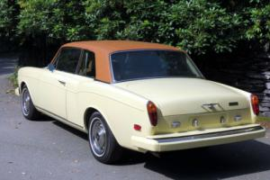 1973 LHD Rolls-Royce Corniche Fixed Head Coupe