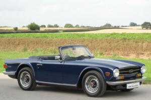 1975 N - Triumph TR6 - CR Chassis Genuine UK Car Photo