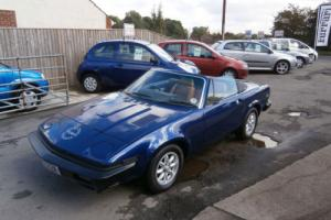 TRIUMPH TR7 CONVERTIBLE HUGE RESTORATION CARRIED OUT