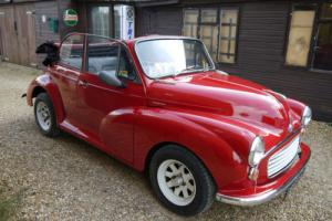 MORRIS MINOR CONVERTIBLE - 1275CC 5 SPEED & MANY OTHER MODS !!