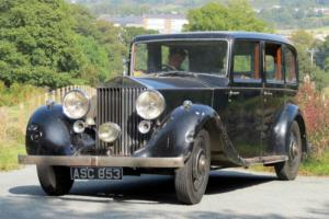 1936 Rolls-ROyce 25/30 Park Ward Limousine GXM73 Photo