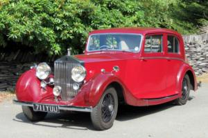 1937 Rolls-Royce 25/30 Rippon Saloon GAN52 Photo