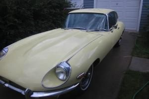 Jaguar : E-Type E type 2+2 Photo