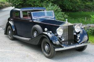 1937 Rolls-Royce Phantom III Gurney Nutting Sedanca 3BU162  Photo