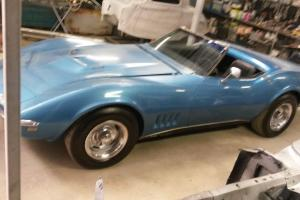 Corvette 1968 Factory 427 BIG Block 4 Speed Numbers Match Convertible Musclecar in Wandong, VIC