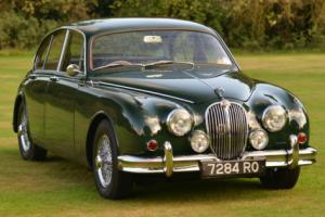 1961 Jaguar Mark II 3.8 Manual overdrive.
