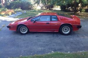 Lotus : Esprit Turbo Coupe 2-Door