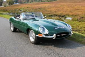 Jaguar E Type Series 1 3.8 Roadster 1964 Two Owners From New UK Car XK MK2 EType