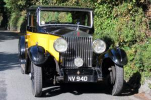 1932 Rolls-Royce 20/25 Thrupp & Maberly Saloon GFT63