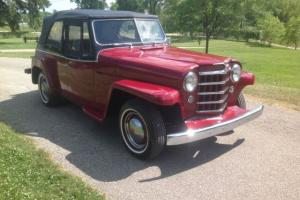 Willys JEEPSTER 6cy