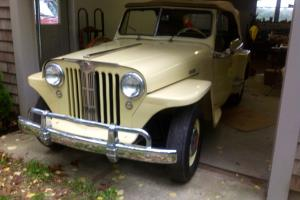 Willys : Jeepster Conv