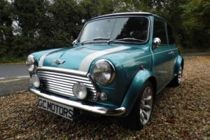 1998 Rover Mini Cooper in Hawaiian Blue