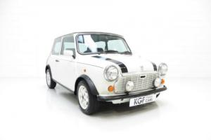 A Stunning Rover Mini Italian Job with Just One Owner and 36,881 Miles