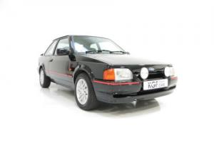 A Fantastic Ford Escort XR3i 90 Spec with Just 68,895 Miles and Full History