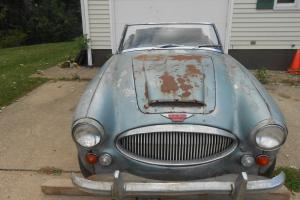 Austin  Healey  BJ8  Mark  111 Photo