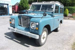 1970 Land Rover Series 2a Station Wagon SWB