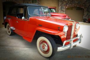 Willys : Jeepster Overland Convertible Overland
