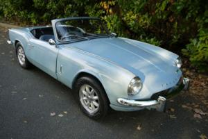 TRIUMPH SPITFIRE MK3 - EXCELLENT CAR WITH OVERDRIVE AND HARDTOP !!