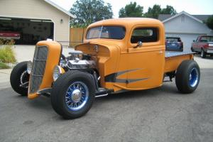 with 350 Chevy Motor