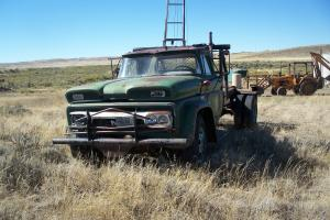 1966 GMC 4000 cab and chasis