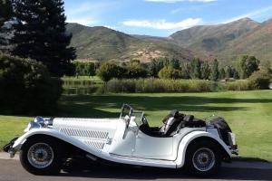!979 aluminum classic roadster, in stunning glacier Photo