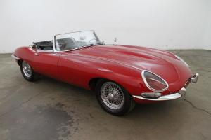 Jaguar : XK E Series 1 roadster 3.8 Photo
