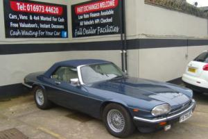 1989/F JAGUAR XJS 5.3 V12 CONVERTIBLE AUTO FOR SALE Photo