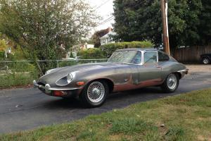 Jaguar : E-Type 2 seat coupe