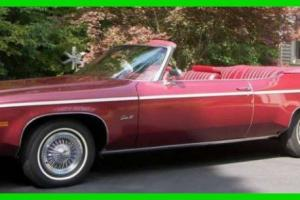 Oldsmobile : Eighty-Eight Delta Royal Convertible Coupe 7,500 Miles!