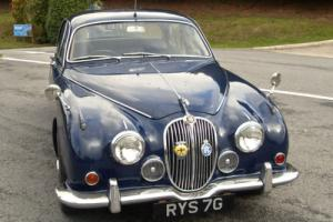 1968 Jaguar 240 Mk 2 Royal Blue with Blue interior Restoration Project £7995 Photo