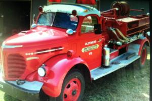 Forest Service REO Fire Truck Photo