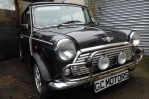 1997 Rover Mini Cooper in Graphite Grey and just 5,300 miles