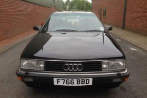 1989 F AUDI 200 TURBO AUTO,FSH,BILLS,RECEIPTS,ALLOYS,103K FROM NEW,LONG MOT