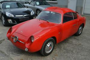 Abarth ZAGATO Fiat 750GT Double Bubble not Fiat 500