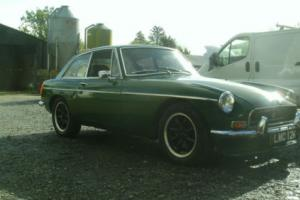 MG/ MGB GT 1972 tax exempt used daily