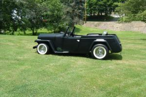 Willys : jeepster '