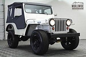 Willys : Jeep CJ-2A