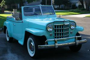 Willys : JEEPSTER $40K RESTORATION - 300 MILES