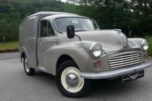 1969 Morris Minor Van, Body off restoration, looks and drives A1