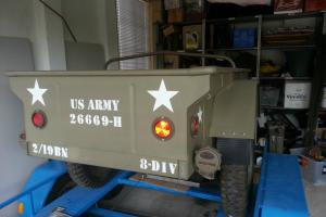 Ford Jeep Army Trailer Restored Suit Willys in Greenvale, VIC