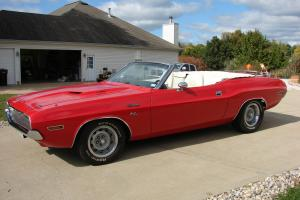 Dodge : Challenger Convertible