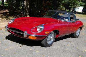 Jaguar : E-Type Roadster - OTS